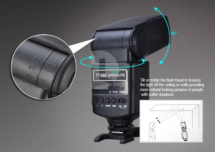 tt560 speedlite instructions