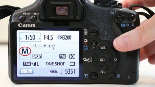 camera manual mode