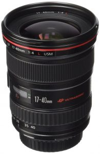 Canon EF 17-40mm f