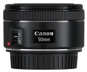Canon EF 50mm 1.8 STM Lens