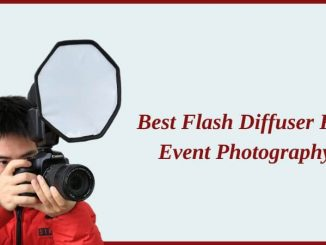Best flash diffuser for event photography