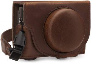 MegaGear Leather Camera Case