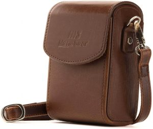 MegaGear Leather Camera Case with Strap