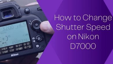 How to Change Shutter Speed on Nikon D7000