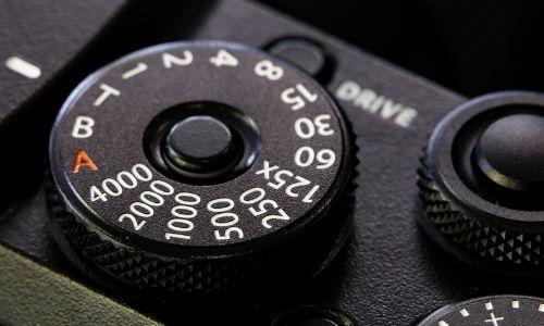 shutter speed on Nikon D7000