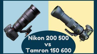 Nikon 200 500 vs Tamron 150 600