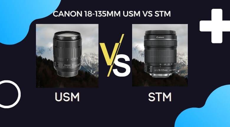 Canon 18-135mm USM vs STM