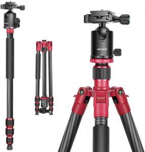 Neewer Carbon Fiber Tripod – 66 inches Canon 5D Mark III