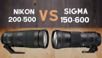 Nikon 200-500 vs Sigma 150-600 Sport