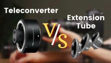 Teleconverter VS Extension Tube