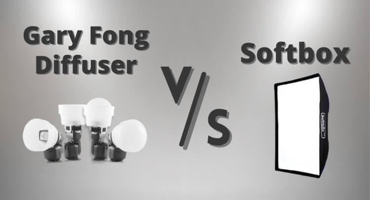 Gary Fong Diffuser vs Softbox