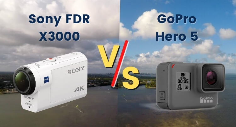 Sony FDR X3000 vs GoPro Hero 5