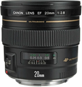 Canon EF Wide-Angle Fixed Lens