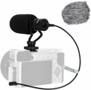 EACHSHOT Video Microphone Mic for Camera